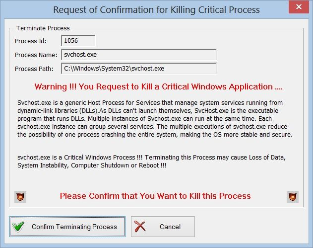 how to kill process synology