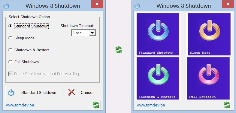 Windows 8 SHutdown